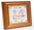 birth tile personalised