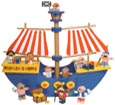 pirate ships and noah's ark toys