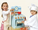 honeybake wooden oven set