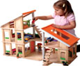 chalet dolls house for children