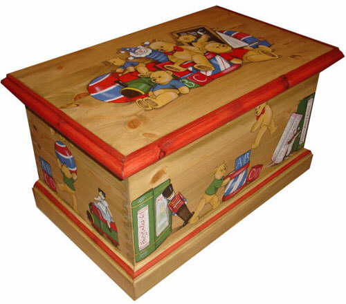 Best Toy Boxes And Chests For Kids : Children s wooden toy boxes personalised kids furniture